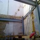 foto1843 Estructuras-Trabajos de estructura metálica en rehabilitación