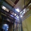 foto1845 Estructuras-Estructura metálica en refuerzo antiguo forjado