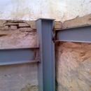 foto1848 Estructuras-Detalle de pilar y jácenas