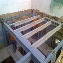 foto1850 Estructuras-Montaje de forjado de vigas pretensadas y bovedilla hormigón