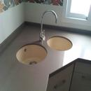foto2047 Cocina-Bancada / Detalel de fregaderos en esquina mobiliario bajo encimera