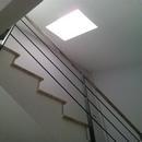 foto2063 Escalera-Aluminio / Detalle de claraboya desde el interior