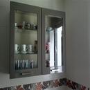 foto2092 Cocina-Muebles / Vitrina con cristal en cocina de diseño