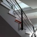 foto2104 Escalera-Barandilla / Barandilla de escalera con acero inox